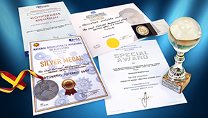 «Швабе» получил четыре медали за инкубатор «Бонни» в Чехии