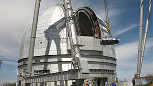 Ростех установил астрономическую оптику на самом большом в Евразии телескопе