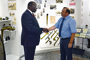 Shvabe and Uganda's Ambassador discuss the prospects of medical equipment shipments