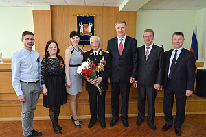 Shvabe veterans actively participated in celebrations of the 70th Anniversary of Victory