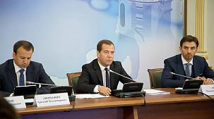 Визит Д.А.Медведева на УОМЗ