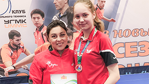 Теннисистка «Швабе» завоевала бронзу на Кубке Свердловской области