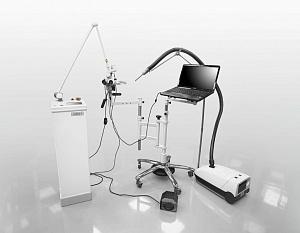 Хирургический лазерный комплекс «Швабе» показывают в Ташкенте