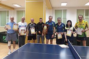 Вологодская команда «Швабе» завоевала городской кубок по настольному теннису